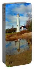 Lake Huron Lighthouse Portable Battery Charger