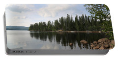 Lake In The Woods Portable Battery Charger