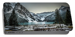 Portable Battery Charger featuring the photograph Lake Louise by Bill Howard