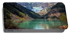 Lake Louise - Canadian Rockies  Portable Battery Charger