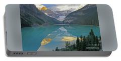 Lake Louise Sunrise Portable Battery Charger