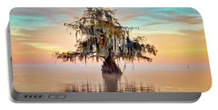 Lake Maurepas In Pastels Portable Battery Charger