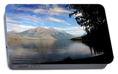 Portable Battery Charger featuring the photograph Lake Mcdonald 20 by Marty Koch