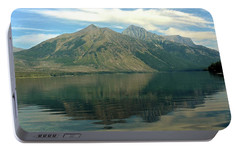 Portable Battery Charger featuring the photograph Lake Mcdonald 51 by Marty Koch