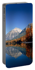 Lake Mcdonald Autumn Portable Battery Charger