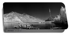 Lake Mcdonald Boat Dock 2 Portable Battery Charger