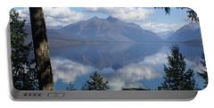 Lake Mcdonald Glacier National Park Portable Battery Charger