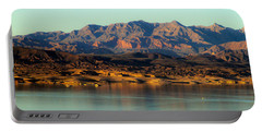 Lake Mead Before Sunset Portable Battery Charger