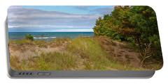 Lake Michigan Shore Portable Battery Charger