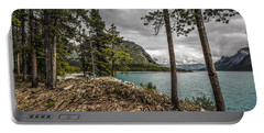 Lake Minnewanka Portable Battery Charger