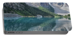 Portable Battery Charger featuring the photograph Lake Moraine by Patricia Hofmeester