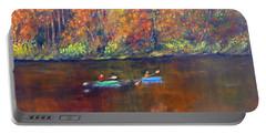 Lake Nockamixon Autumn Portable Battery Charger