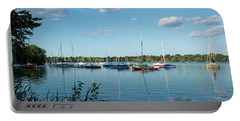 Lake Nokomis Minneapolis City Of Lakes Portable Battery Charger