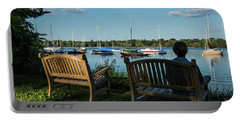 Lake Nokomis Peace Minneapolis City Of Lakes  Portable Battery Charger