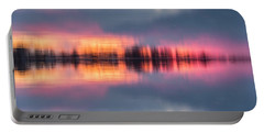 Portable Battery Charger featuring the photograph Lake Norman Sunset by Ronald Santini