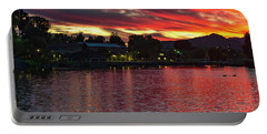 Lake Of Fire Portable Battery Charger