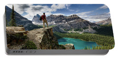 Lake O'hara Adventure Portable Battery Charger