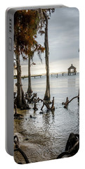 Lake Pontchartrain Uncropped Portable Battery Charger