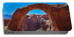 Portable Battery Charger featuring the photograph Lake Powell - Rainbow Bridge by Dany Lison