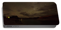 Portable Battery Charger featuring the photograph Lake Powell Stars by Brenda Jacobs