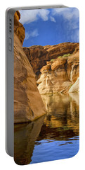 Lake Powell Stillness Portable Battery Charger by Dominic Piperata