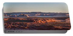 Lake Powell Sunrise Panorma Portable Battery Charger