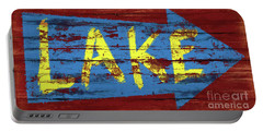 Lake Sign Portable Battery Charger