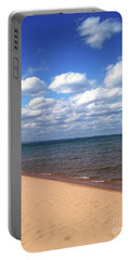 Lake Superior In Summer Portable Battery Charger