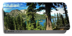 Lake Tahoe Serenity Portable Battery Charger