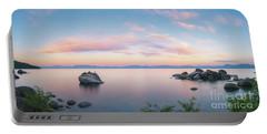 Lake Tahoe Sunrise Panorama Portable Battery Charger
