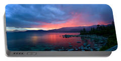 Lake Tahoe Sunset Portable Battery Charger