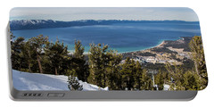 Lake Tahoe Vista Portable Battery Charger
