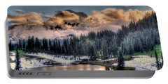 Lake Tipsoo, Mt Rainier Portable Battery Charger by Greg Sigrist