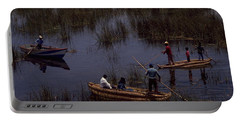 Lake Titicaca Reed Boats Portable Battery Charger