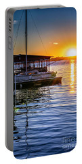 Portable Battery Charger featuring the photograph Lake Travis by Walt Foegelle