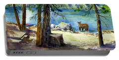 Lake Valley Bear Portable Battery Charger
