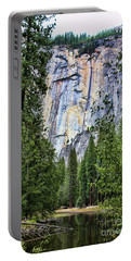 Lake View  Portable Battery Charger by Chuck Kuhn