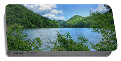 Portable Battery Charger featuring the photograph Lake View Splendor  by Kerri Farley