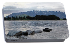 Portable Battery Charger featuring the photograph Lake Wanaka,queenstown, New Zealand by Yurix Sardinelly