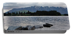 Lake Wanaka,queenstown, New Zealand Portable Battery Charger