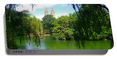 Lakeside In Manhattan, New York Portable Battery Charger