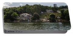 Lakeside Living Hopatcong Portable Battery Charger by Maureen E Ritter