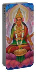 Lakshmi Blessing Portable Battery Charger