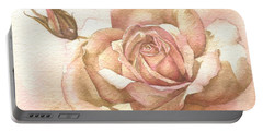 Lalique Rose Portable Battery Charger by Sandra Phryce-Jones