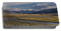 Lamar Valley Panorama Portable Battery Charger