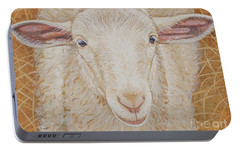 Lamb Of God Portable Battery Charger by Christine Belt
