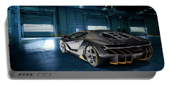 Lamborghini Centenario Lp 770-4 Portable Battery Charger by Roger Lighterness