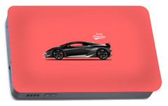 Lamborghini Sesto Elemento Portable Battery Charger by Mark Rogan