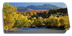 Lamoille River Autumn View Portable Battery Charger