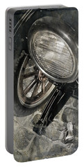 Portable Battery Charger featuring the photograph Vintage Car #3124 by Andrey  Godyaykin